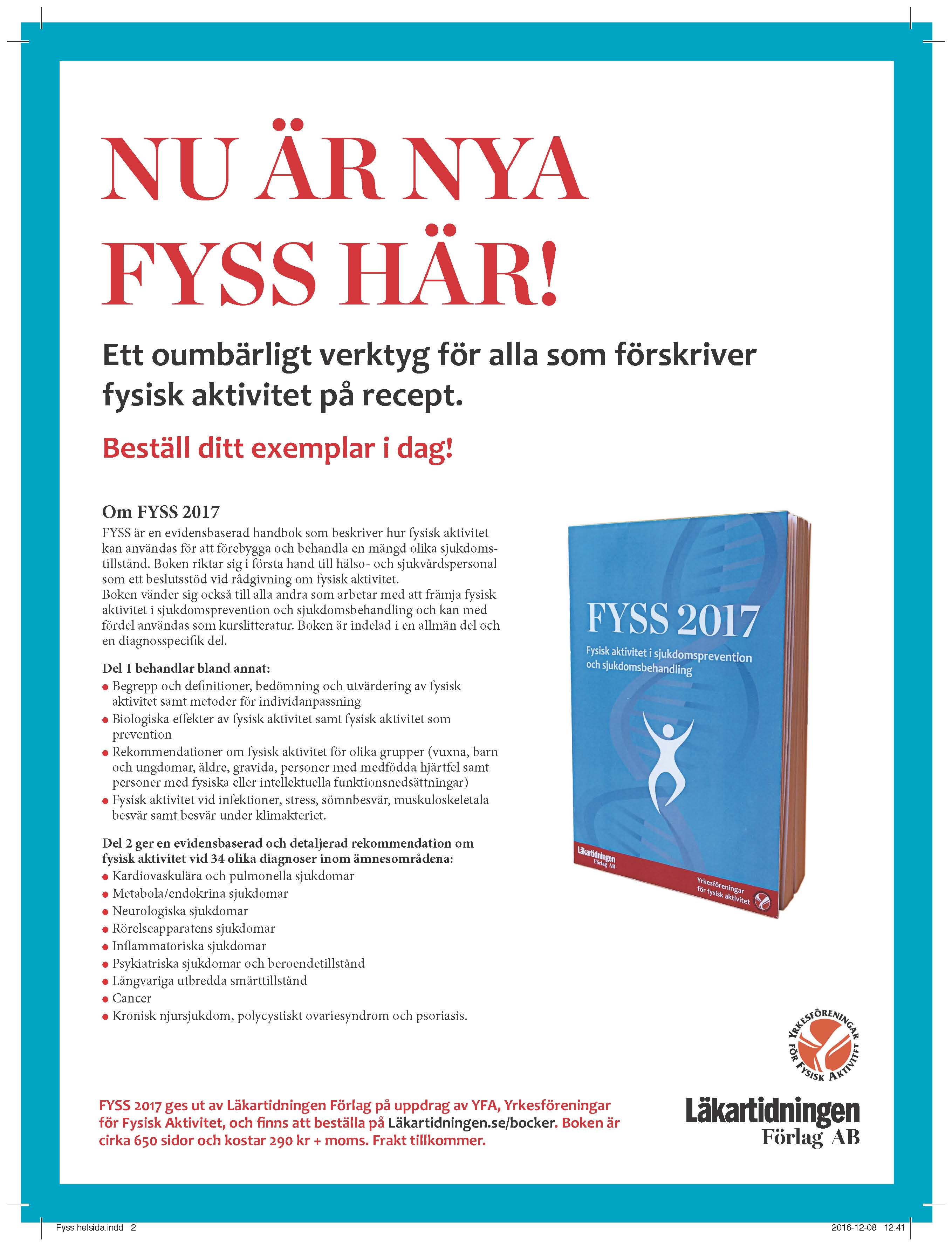 FYSS 2017 helsida